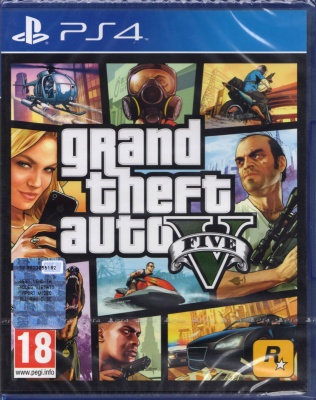 GRAND THEFT AUTO V GTA 5,PLAYSTATION 4,PS4,Italiano