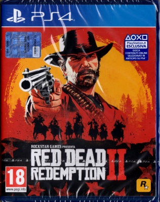 RED DEAD REDEMPTION 2,PLAYSTATION 4,PS4,Italiano