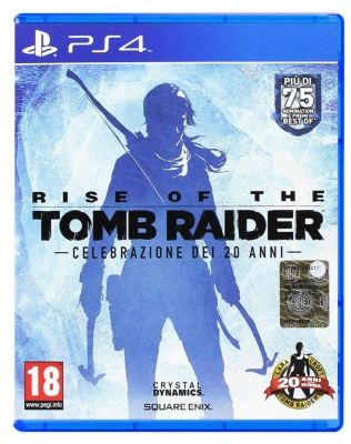 RISE OF THE TOMB RAIDER,PLAYSTATION 4,PS4,PAL,Italiano