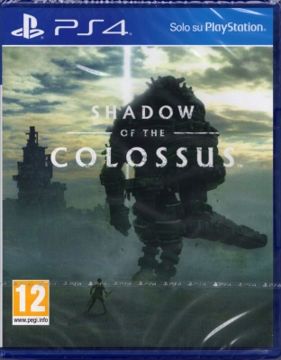 SHADOW OF THE COLOSSUS,PLAYSTATION 4,PS4,Italiano