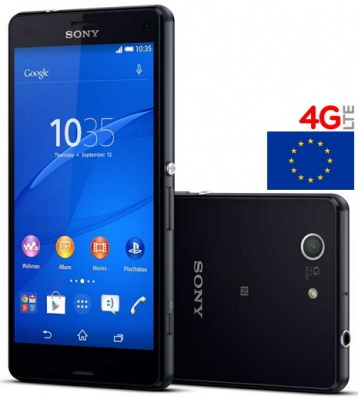 Sony Xperia Z3 D6603 16GB Black Nero